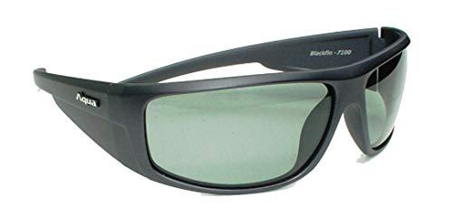 AQUA Angelbrille Blackfin, polarisiert und fotografisch, Gläser Dunkelgrau / Hellgrau