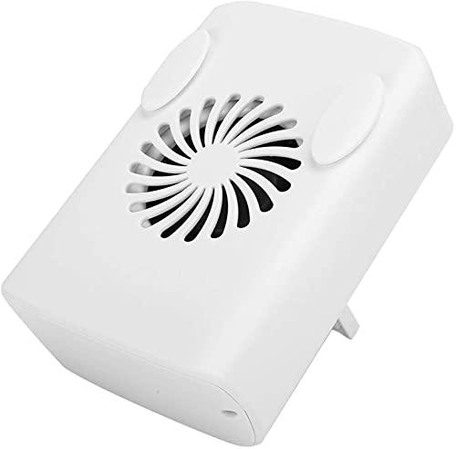 Ventilador de carga USB portátil, ventilador de cintura de la regulación de velocidad de tres velocidades, Mini ventilador de escritorio con protección múltiple, adecuado para viajes de oficina ventil