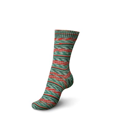 Regia 4-ply Color Sock Yarn 100g/3.5oz (1160 - Linzertorte Christmas)