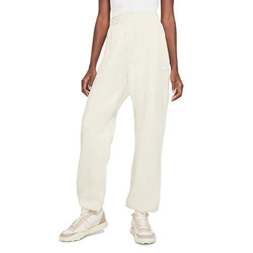 Nike Sportswear Essential - Pantalones de forro polar para mujer Bv4089-113 - beige - Large