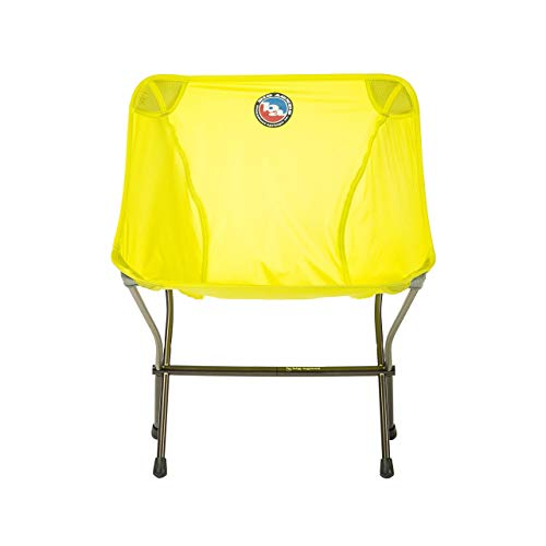 Big Agnes Skyline Ultralight Backpacking Chair for Fast and Light Adventures, Yellow Camp Furniture,...