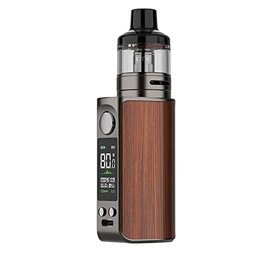 LUXE 80 Kit | Costruito in 2500mAh 80W Mod con 5ml GTX Pod 26 Fit GTX Coils sigaretta elettronica Vape alimentato da Axon Chip da Vaporesso