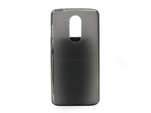 etuo Handyhülle für ZTE Axon 7 Mini - Hülle FLEXmat Hülle - Schwarz - Handyhülle Schutzhülle Etui Hülle Cover Tasche für Handy