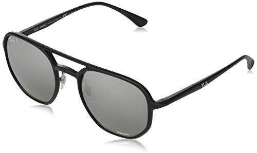Ray-Ban RB4321CH Gafas, NEGRO, 53 Unisex Adulto