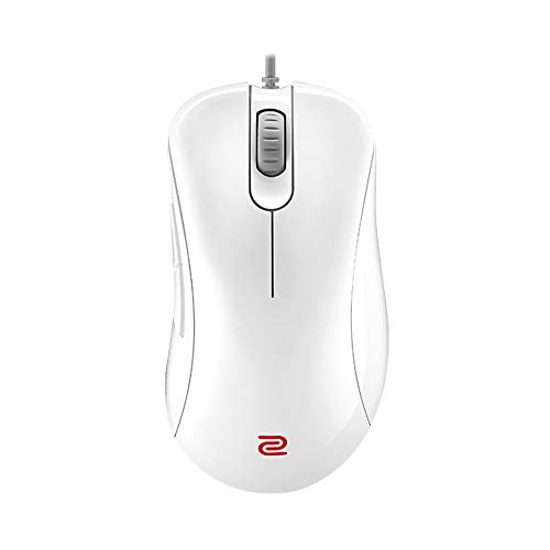 BenQ Zowie EC1 エルゴノミック ゲーミングマウス Esport用 ホワイトエディション プロフェッショナルグレードのパフォーマンス ドライバーレス 光沢コーティング Lサイズ