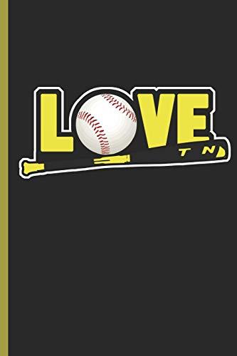 Love Baseball: for Training Log and Diary Training Journal For Baseball (6