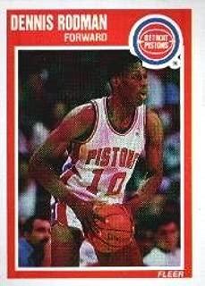 1989 Fleer Basketball Card (1989-90) #49 Dennis Rodman