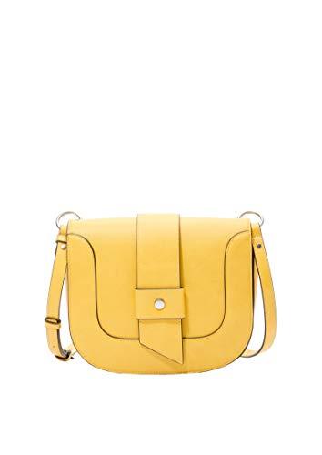 s.Oliver (Bags Damen 2016205 Schultertasche, Gelb (Yellow), 6.5x17x22 cm