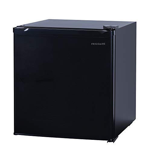 1.6 Cu Ft Bar Fridge, Compact Refrigerator, Black