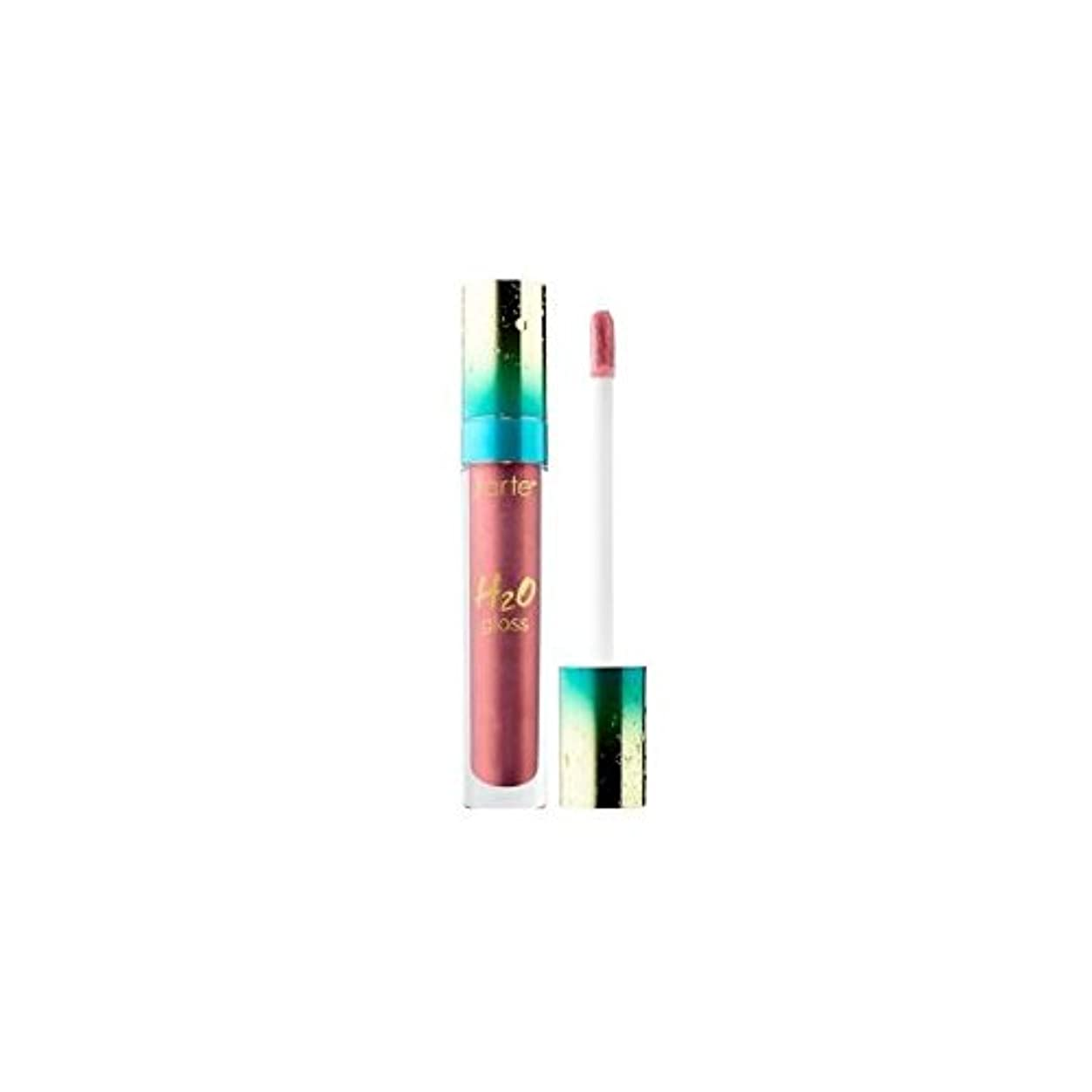 神聖枯れる余分なtarteタルト リップ グロス H2O Lip Gloss - Rainforest of the Sea Collection Shimmer finish