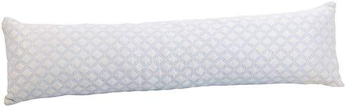 newgen medicals Schwangerschaftskissen: Memory-Foam-Kissen für Seitenschläfer, 127 x 35 x 20 cm (Seitenschläferkissen Memory Foam)
