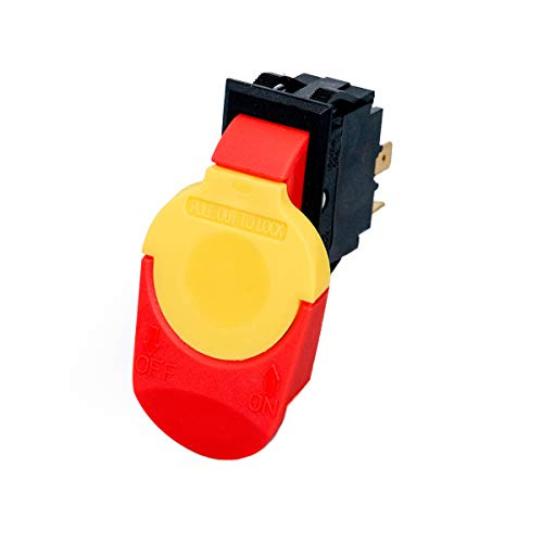 POWERTEC 71390 Safety Paddle Switch, 110V/ 220V