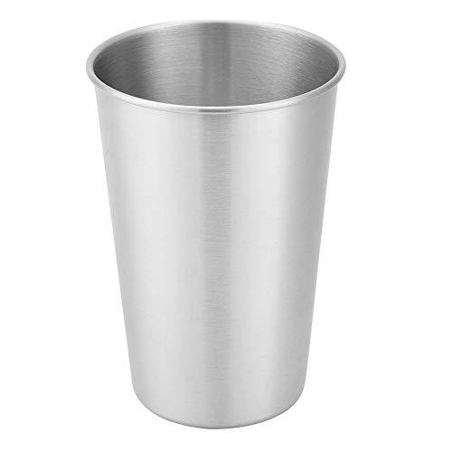 Vasos de metal fáciles de llevar reutilizables duraderos taza de té de alta calidad para el hogar al aire libre