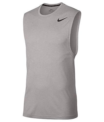 Nike Men's Breathe Muscle Tank Grey Small