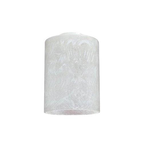 Westinghouse Lighting Corp 8570100 - Pantalla de cristal con forma de cilindro de hielo (4-3/4')