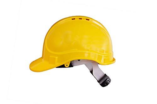 Irudek Protection 302601300007 Casco para industria y contrucción STILO 300V | Certificado Europeo EN 397, EN 50365, 30º, 440V c.a, Amarillo