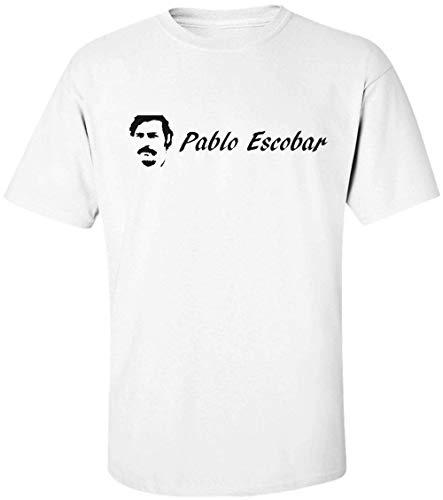 Pablo Escobar Logo Herren T-Shirt Extra Large