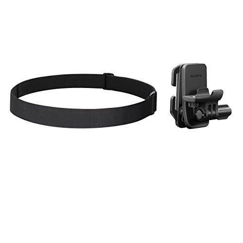 Sony BLT-CHM1 Kopfmontage Kit (Zubehör Montage Kit für Helm, Brille und Kopf, geeignet für Action Cam FDR-X3000, FDR-X1000, HDR-AS300, HDR-AS200, HDR-AS50) schwarz