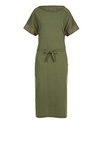 s.Oliver Damen Kleid kurz khaki 36