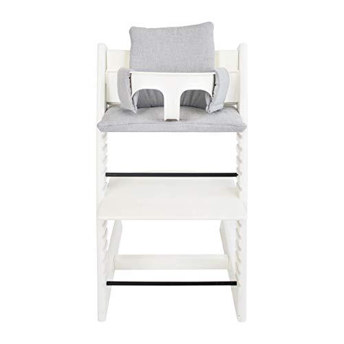 Les Rêves d'Anaïs-Assise Sirène Grey pour chaise haute Stokke Tripp Trapp - Gris