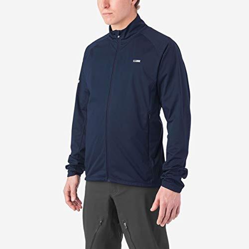 Giro Herren M Stow H2O Jacket Fahrradbekleidung, Midnight Blue, S