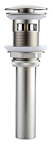 Aquafaucet Vessel Sink Drain 1 5/8' Bathroom Faucet Pop-up Drain Assembly...