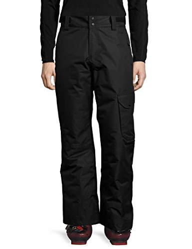 Ultrasport Advanced Pantaloni da sci Cargo da uomo, pantaloni da sci, pantaloni da snowboard, Nero, M