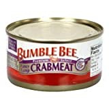 Bumble Bee Fancy Lump Crabmeat 6 Oz ( Pack of 4)