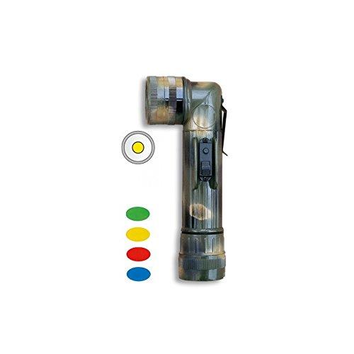 Albainox 33128 Linternas Tácticas, Unisex Adulto, Multicolor, Talla Única