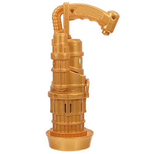 Yardwe 1 Juego de Burbujas de Gatling Máquina Eléctrica Soplador de Burbujas de Agua de Jabón Máquina de Burbujas de Agua Juguetes Aire Libre para Niños Tropical Verano Playa Fiesta