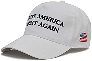8c72f89269b Besti Make America Great Again Donald Trump Slogan with USA Flag Cap  Adjustable Baseball Hat