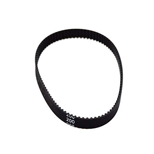 WYanHua-Cinghia di distribuzione 2pcs Cintura di cassa in gomma a circuito chiuso, cinghia di distribuzione GT2, lunghezza 200-2GT-6 200 mm, larghezza 6mm, denti 100, per stampante 3D , Parti di ricam