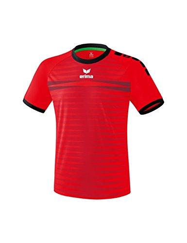 Erima Ferrara 2.0 Maillot de Football Homme Rouge/Noir FR : M (Taille Fabricant : M)