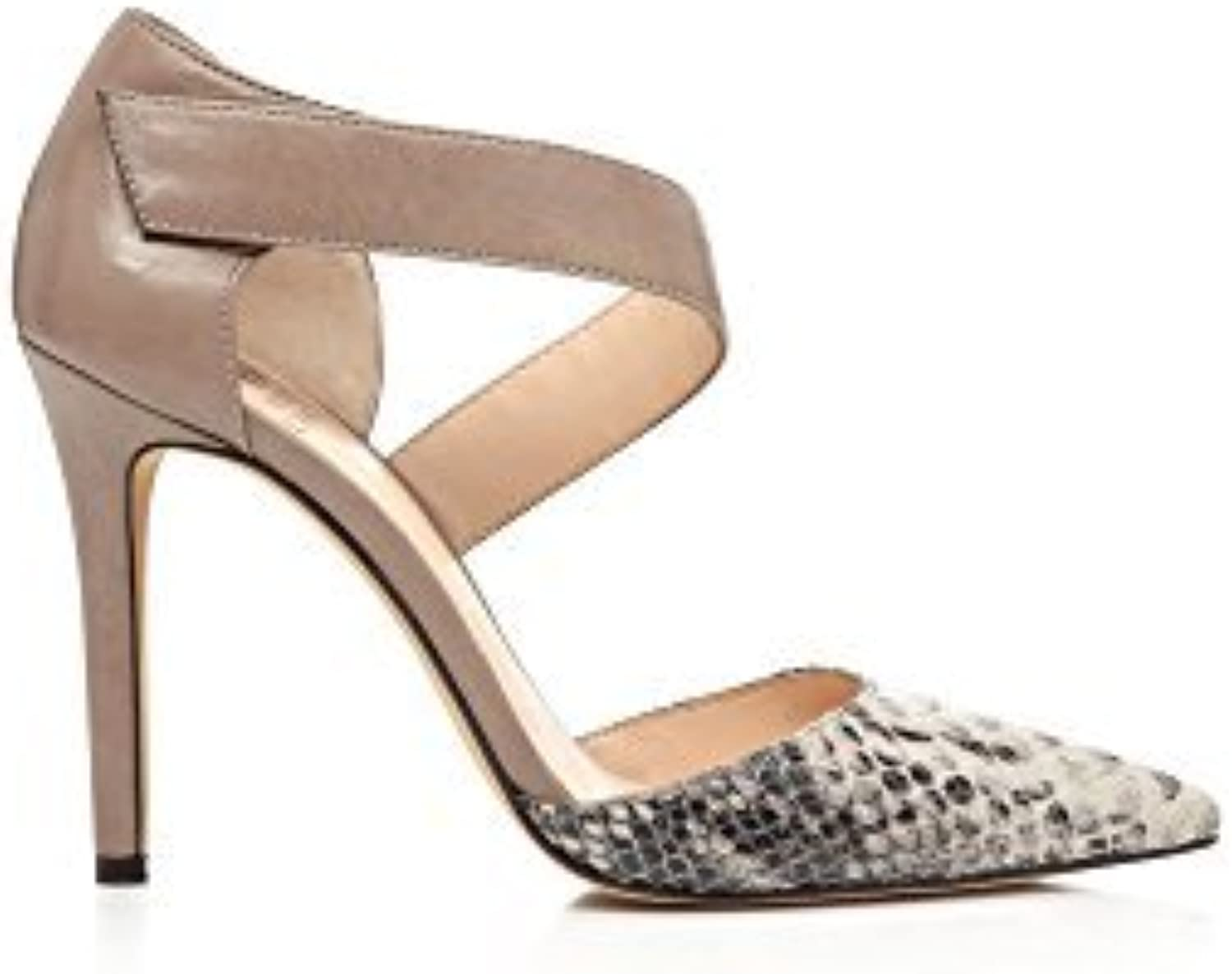 Vince Camuto Carlotte Women's Heels Tabby Gry Toast Taup Size 11 M