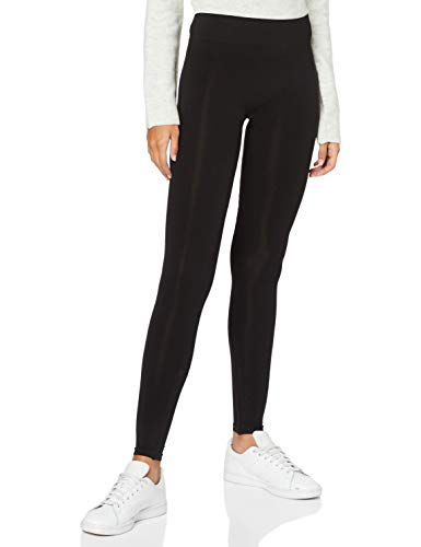 PIECES Damen London NOOS Skinny Leggings, Schwarz (Black Black), 40 (HerstellerGröße: L/XL)