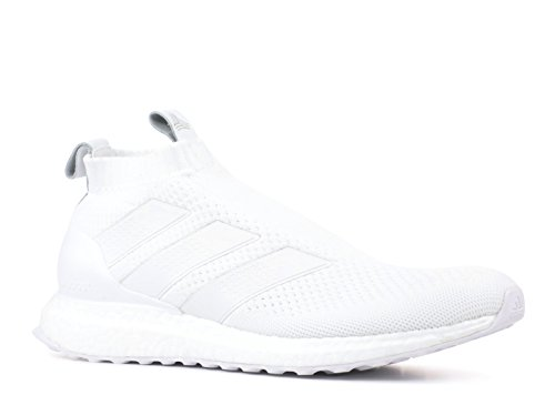 Price comparison product image adidas Ace 16+ Ultraboost Shoe - Men's Soccer 10 Running White