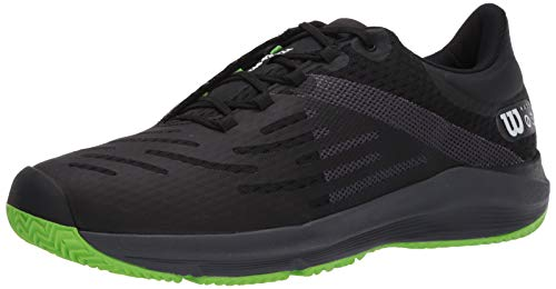 Wilson Footwear Herren Tennisschuh, Schwarz/Ebenholz/Klingengrün, 39 EU