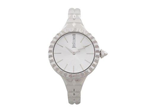 Just Cavalli Damen Analog Quarz Uhr mit Edelstahl Armband JC1L002M0015