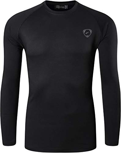 jeansian Men's UPF 50+ Sun Protection Tee Shirts Long Sleeve Dry Fit SPF T-Shirts Tshirt Sport Fishing Hiking Running LA245