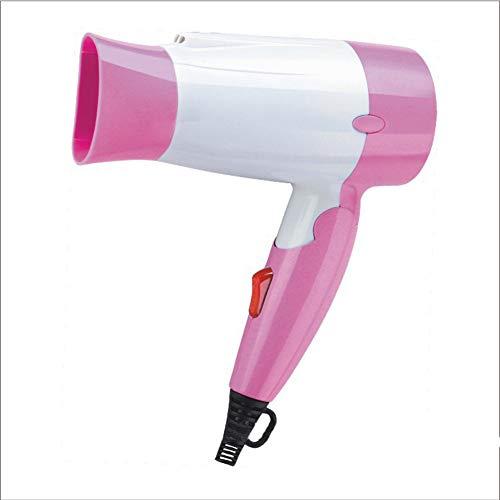 Sèche-Cheveux Séchoir À Cheveux Repliable Portatif 220V De Sèche-Cheveux De Thermostat D'ion Négatif À La Maison D'étudiant,Pink
