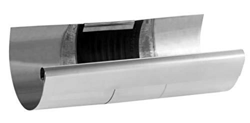 Rinnenverbinder  Dachrinne  zink   400-er   NW-192