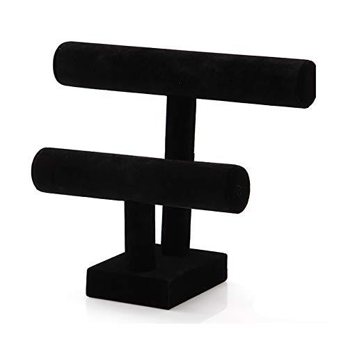 Soporte De Exhibición De Joyería t-Bar Pulsera Collar Reloj Organizador De Soporte De Exhibición para Organización En El Hogar
