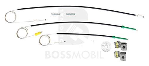 Original Bossmobil Kompatibel mit607 (9D, 9U),Vorne Links, Fensterheber-Reparatursatz, Gleitclip, Gleitbacke clip