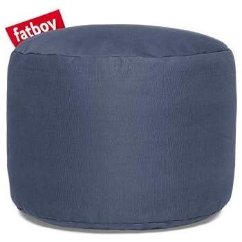 Fatboy Point Hocker Stonewashed Blue, Baumwolle, 35 x 35 x 50 cm (LxBxH)