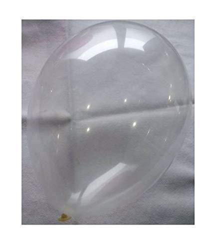 Belbal 50 Luftballons kristall Clear Premiumqualität Ø ca. 27cm B85 (Standardgröße)