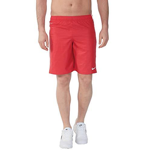 Nike Max Graphic WVN Short NB - Pantalón corto para hombre (talla L, rojo)