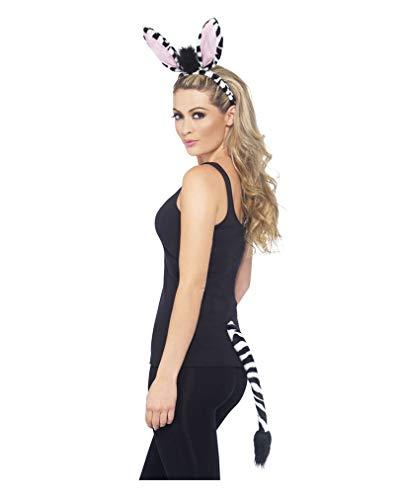 Set Zebra Costume Party