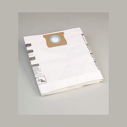 Shop Vac Staubbeutel 40/50 Liter (weiß, für Staubsauger mit 40-50 Liter Behälter, 5 Stück) 9066229