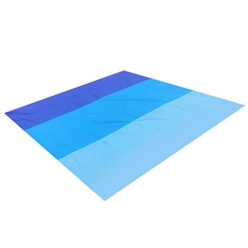 Esterilla de picnic o playa, impermeable, toalla de playa, ultraligera, compacta, resistente a la arena, para camping, senderismo, etc.