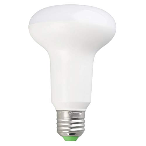 DAMAJIANGM 2.4G Mi-Light 6W / 9W RGBW/CCT Regulable Bombilla LED RF Remoto/WiFi Compatible Blanco 9W Forma de Seta